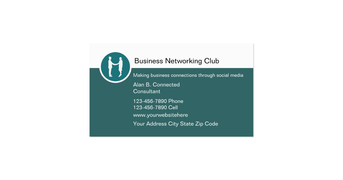 Business Networking Business Cards