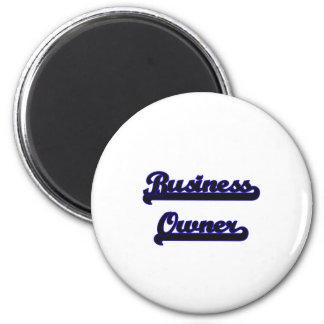 Business Owner Classic Job Design 6 Cm Round Magnet