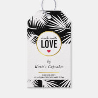 BUSINESS PACKAGING made with love palm leaves