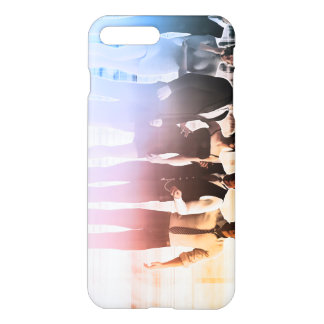 Business People Background as a Group Smiling iPhone 7 Plus Case