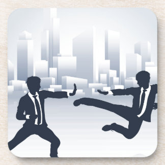 Business People Kung Fu Fighting Coaster
