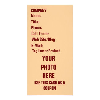 Business Photo Card