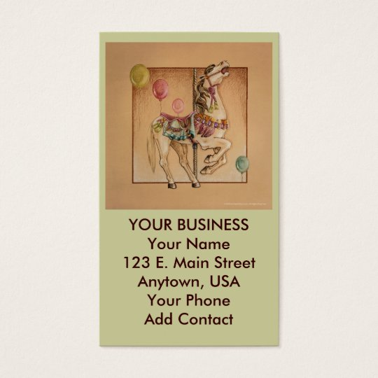 Business - Profile Card - Happy Horse Carousel