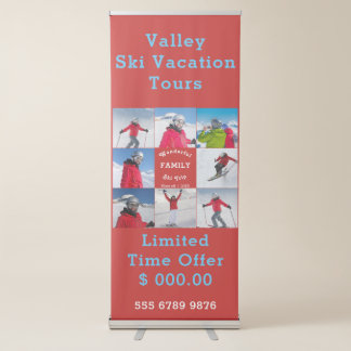 Business Promotion Template Create Your Own Retractable Banner