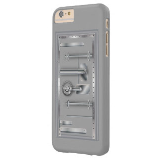 Business Safety Door Safe Barely There iPhone 6 Plus Case