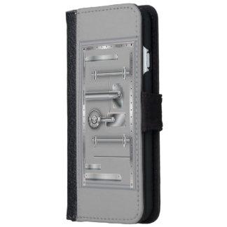 Business Safety Door Safe iPhone 6 Wallet Case