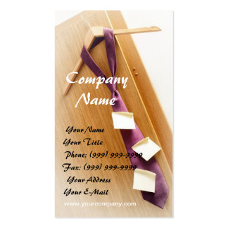 Business schedule business cards
