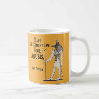 Business Secret: Make UK Company Law Your Anubis Coffee Mug