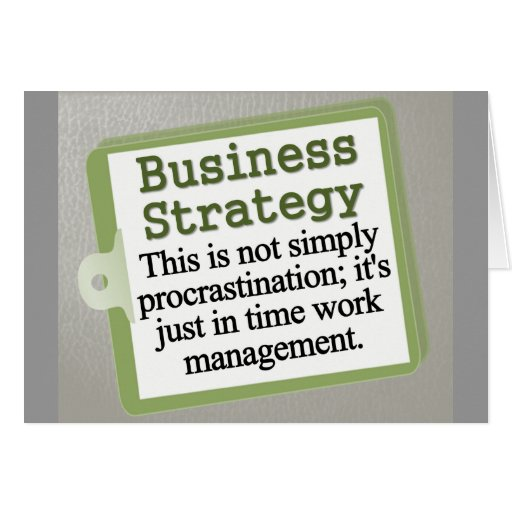 Business Strategy  Cards