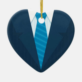 Business suit & tie christmas ornament
