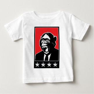 Business Suite Chimpanzee Baby T-Shirt
