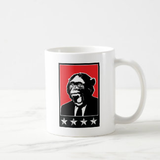 Business Suite Chimpanzee Basic White Mug