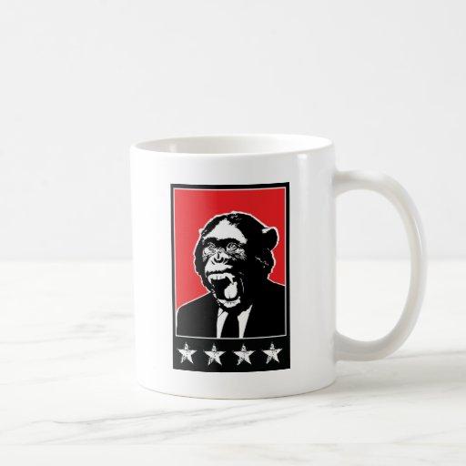 Business Suite Chimpanzee Coffee Mugs