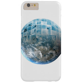 Business Technology Global Network with Futuristic Barely There iPhone 6 Plus Case