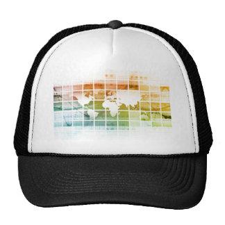 Business Technology Worldwide Trucker Hat