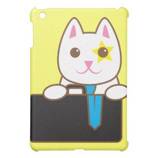 Business time Walnut cat iPad Mini Cover