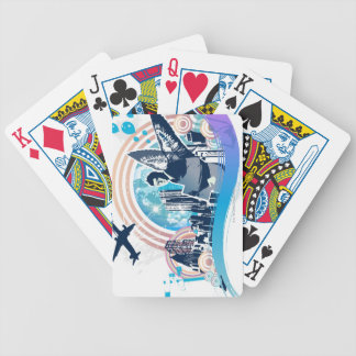 Business Travel Bicycle Playing Cards