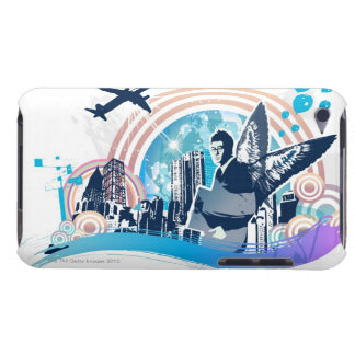Business Travel iPod Touch Case