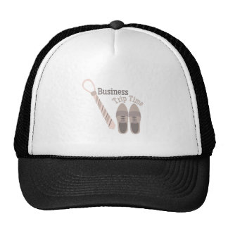 Business Trip Trucker Hat