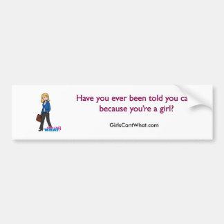 Business Woman - Light/Blonde Bumper Sticker