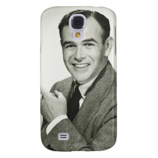 Businessman Pointing Galaxy S4 Case
