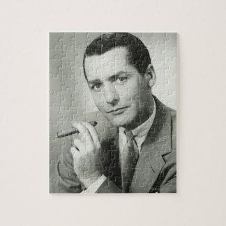 Businessman Smoking Cigar Puzzle