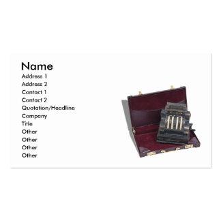 BusinessSales092610, Name, Address 1, Address 2... Pack Of Standard Business Cards
