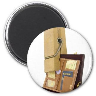 BusinessTravelMinder080209 6 Cm Round Magnet
