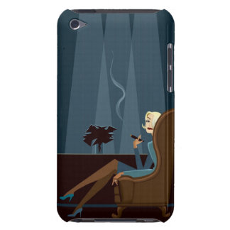 Businesswoman Smoking Cigar Barely There iPod Cases