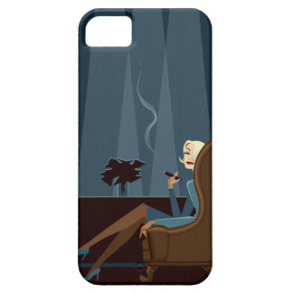 Businesswoman Smoking Cigar iPhone 5 Cover