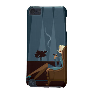 Businesswoman Smoking Cigar iPod Touch (5th Generation) Cases