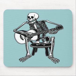 Busker Bones Mouse Pads