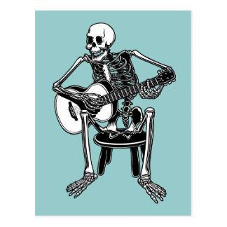 Busker Bones Post Card