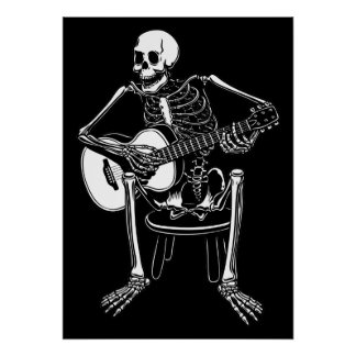 Busker Bones Posters