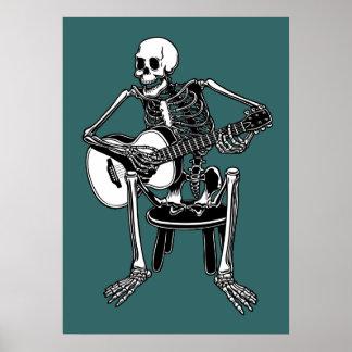 Busker Bones Poster