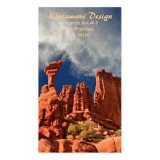 Bussiness card - Fisher Towers-3 Double-Sided Standard Business Cards (Pack Of 100)