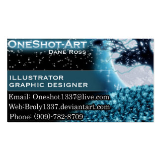 bussiness card pack of standard business cards
