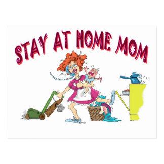 bussy mom postcard
