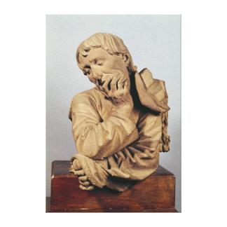 Bust of a Man Canvas Print