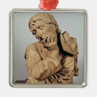 Bust of a Man Christmas Ornament