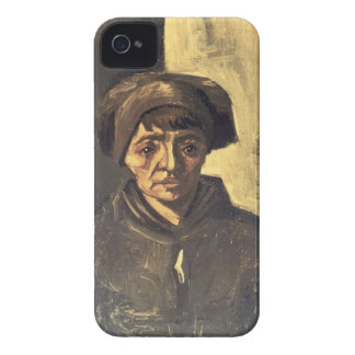 Bust of a Peasant, 1884 (oil on canvas) iPhone 4 Case-Mate Case