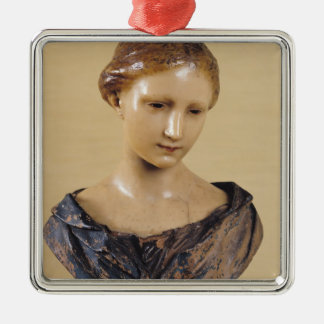 Bust of a Woman Christmas Ornament