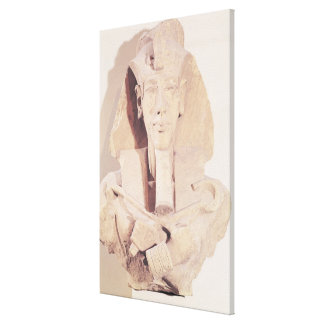 Bust of Amenophis IV from the Temple of Amun Canvas Print