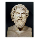 Bust of Antisthenes Poster