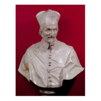 Bust of Cardinal Francesco Barberini Postcard