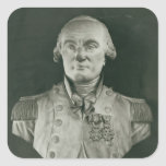 Bust of Charles de Coulomb Square Sticker