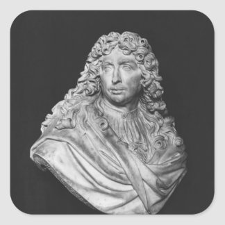Bust of Charles Le Brun, 1679 Square Sticker