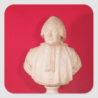 Bust of Chretien Guillaume Square Stickers
