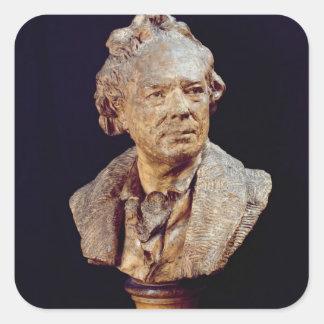 Bust of Christoph Wilibald von Gluck  c.1775 Square Sticker