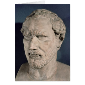 Bust of Demosthenes Card